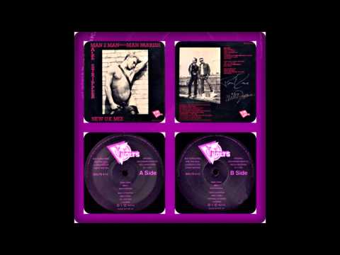 MAN 2 MAN MEET MAN PARRISH - MALE STRIPPER (UK LOVE MIX, US REMIX, MAXI 1986)
