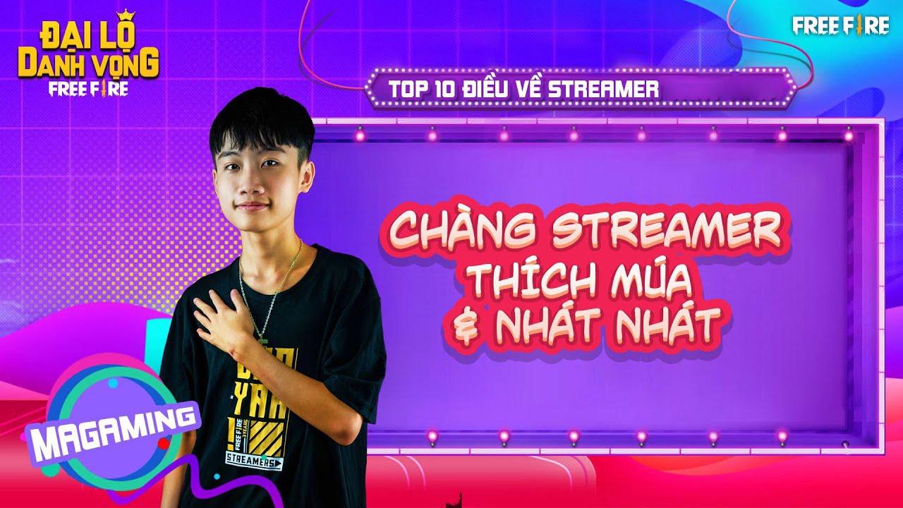 Top 10 Điều Thú Vị Về Streamer Ma Gaming Thích Múa Và Cực Nhát Nhát Nha
