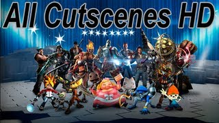 Playstation All-Stars Battle Royale All Prologues, Rivals & Endings HD (Interactive) (+ DLC Chars)