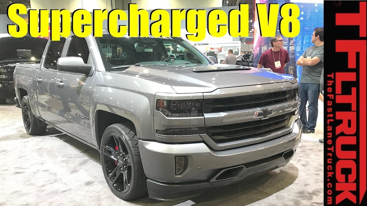 Build A Chevy Truck >> Supercharged V8 Chevy Silverado 1500 Concept Should They Build It
