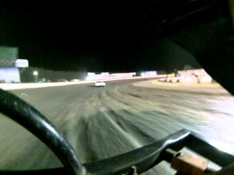 Santa Maria Speedway Nationals Austin Ruskauff Hobby Stock #88R Hot Laps 5/26/13 View 2