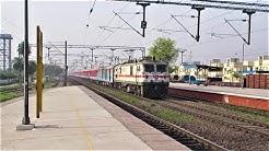 Speeding Mumbai Rajdhani Express