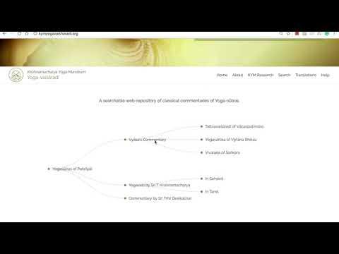 KYM Yoga Vaisharadi   How To Use The Web Application?