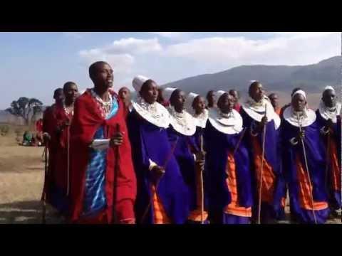 Maasai Village Chorus - Ngorongoro Crater - Tanzania