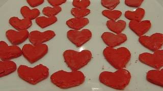 Betty's Easy Faux Fondant Valentine Hearts