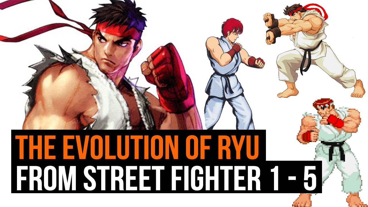 Street Fighter 5 Ryu S Evolution From Coin Op To Ps4 1987