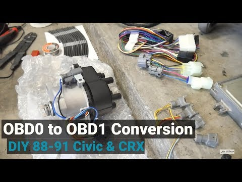 How To Convert to OBD1 for any OBD0 Civic/CRX/Integra