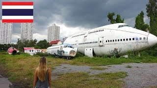 Flugzeugfriedhof Bangkok • Lost Place • Urbex Thailand • Urban Exploration | VLOG #141