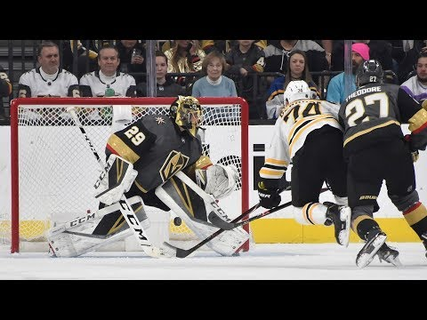 Jake DeBrusk spins and nets a beauty