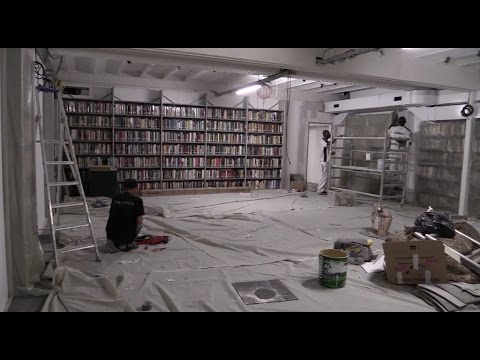 The American Library in Paris summer 2016 renovations