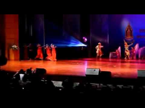 Opening Ceremonial in Thailand Cultural Center, Bangkok.