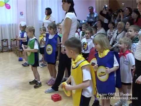 Соревнования «Колесико безопасности» среди дошкольников проведены полицейскими в Мурманской области