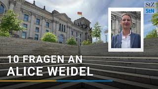 """10 Fragen an Alice Weidel: Angela Merkel, """"Umvolkung"""" & Verschwörungserzählungen"""
