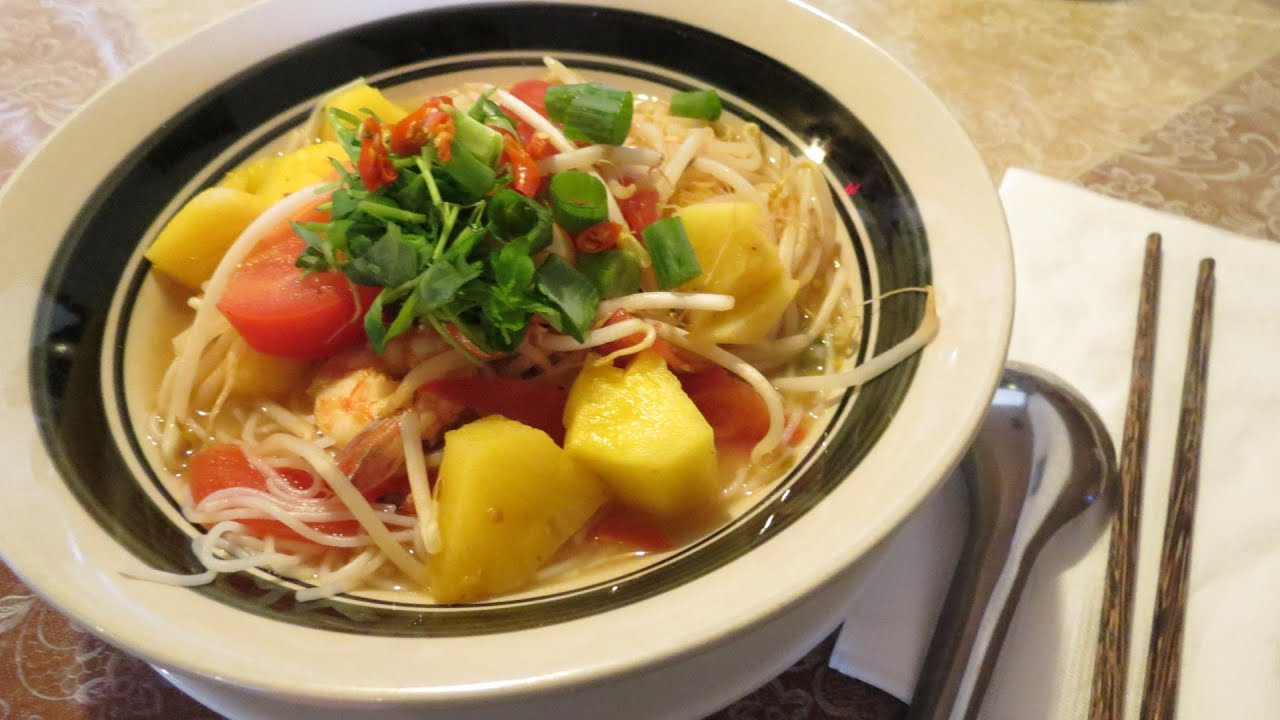 How To Make Vietnamese Sweet And Sour Soup