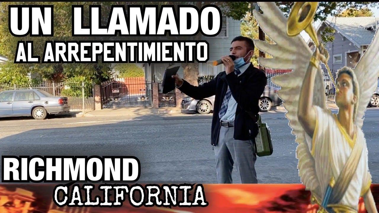 Arrepentios Dice El Señor (( Richmond California )) erme zuniga