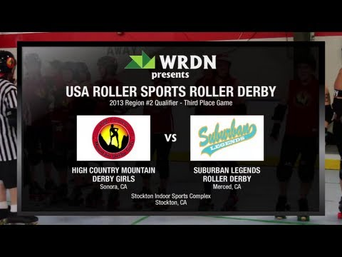 High Country Mountain vs. Suburban Legends - 2013 USARS Roller Derby Regional