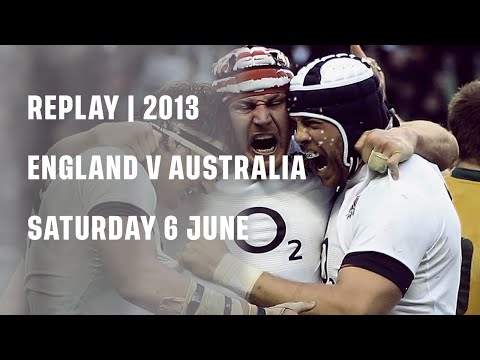 Replay | England V Australia 2013