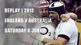 Replay | England v Australia 2013