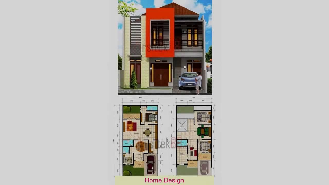 Desain Rumah Minimalis Ukuran 7X12 Meter YouTube