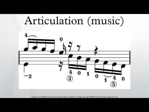 Articulation (music)