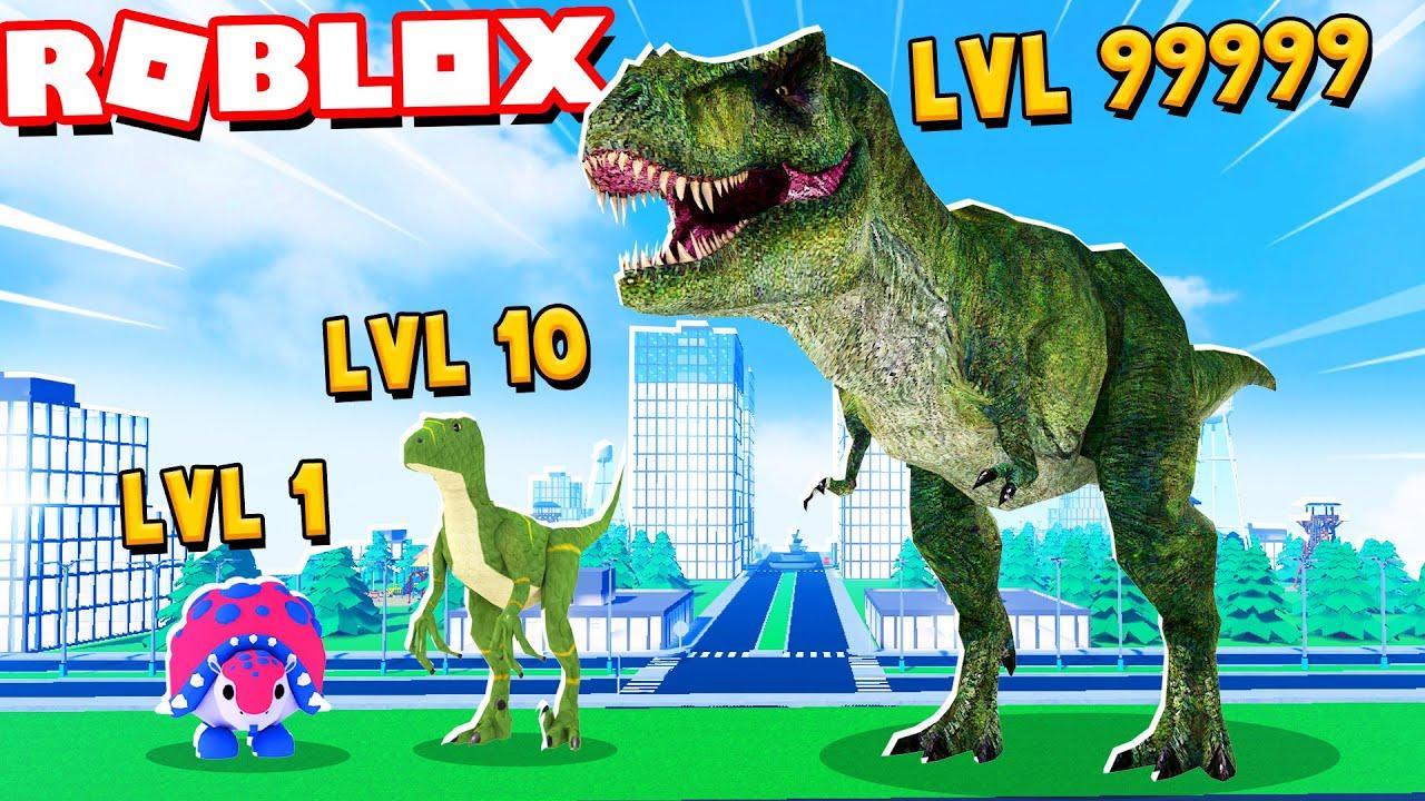 EWOLUCJA DINOZAURÓW w Roblox! (Dinosaur City)   Vito i Bella