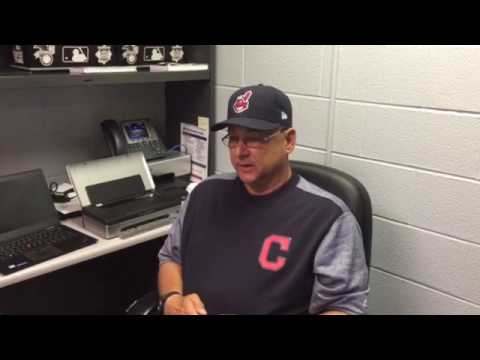 Indians manager Terry Francona on Yandy Diaz