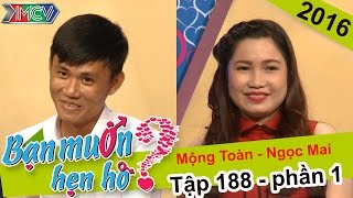 Laughing  with the case of usually-go-out-at-night couple | Mong Toan - Ngoc Mai | BMHH Ep 188