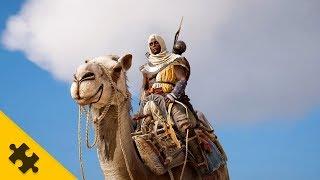 Assassin s Creed Origins - Верблюд, ТАЙНЫЙ ОРДЕН ДРЕВНИХ, смотрим город МЕМФИС