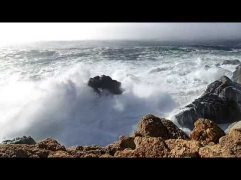 Wave Crash Big Sur