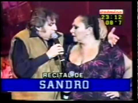 SANDRO  Rita Cortese  Oscar D'Auria en Batería