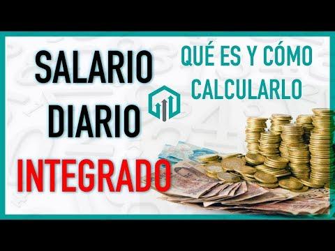 Salario Diario Integrado SDI Cómo Calcularlo