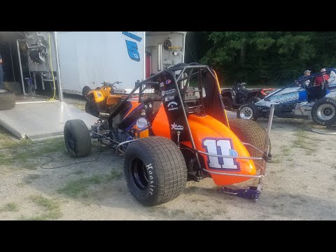 2019 USAC East Coast Sprint Cars Georgetown Speedway | July 27, 2019 [PURE SOUND]