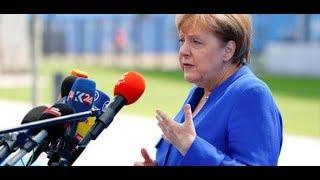 SARKASTISCHER KONTER: Merkel weist scharfe Kritik Trumps zurück