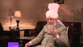 World News Special: CBC Interview With Hazoor (English)