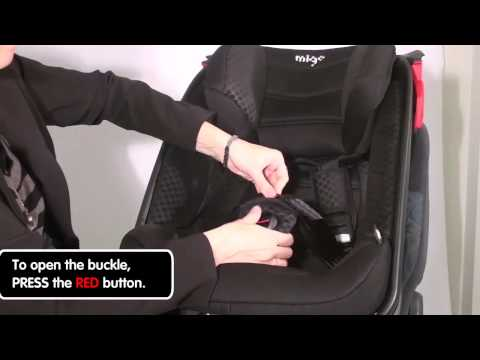 Installation of the MIGO SATURN car seat with ISOFIX base SOLAR