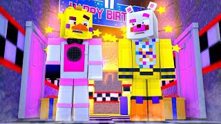 Funtime Freddy and Chica Switch Bodies! Minecraft FNAF Roleplay