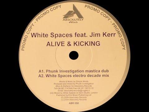 White Spaces feat. Jim Kerr – Alive & Kicking (Phunk Investigation Mastica Dub)