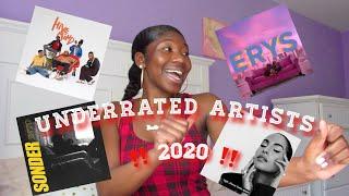 UNDERRATED ARTISTS 2020 - R&B, ALTERNATIVE, RAP, HIP HOP