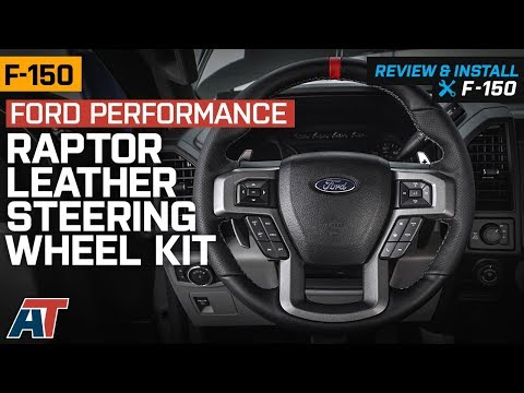 2015-2019 F150 Ford Performance Raptor Leather Steering Wheel Kit W/ Red Sightline Review & Install