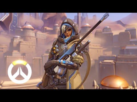 Overwatch : Blizzard dévoile un nouveau héros de soutien, Ana