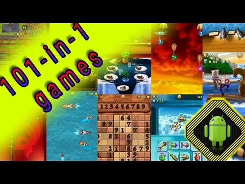 Логические игры,чумовые аркады,гонки,спортивные игры,стрелялки,многое другое в игре 101-in-1 games!