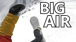 Big Air Snowboarding at Jackson Hole