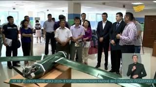 Предприниматели Уральска выпускают беспилотники для аграриев(, 2016-06-16T11:53:30.000Z)