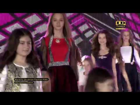 Download World & Ukrainian Fashion Kids 2018: KATRIN FOX COLLECTION