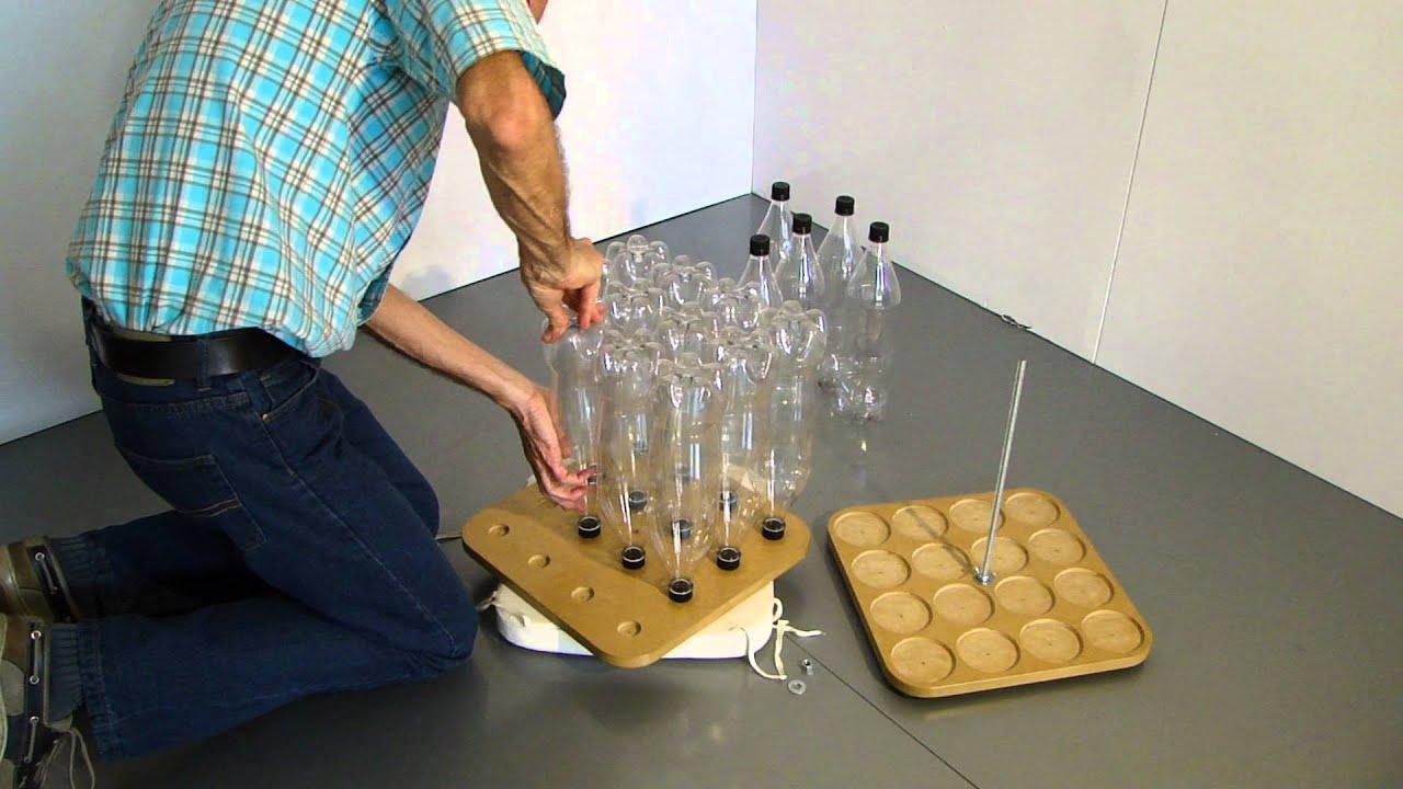 Cómo hacer un butaco con botellas plásticas (pet), eco diseño