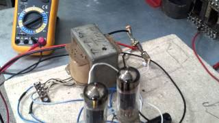 видео Усилитель PP на 6С3П и 6П41С от U.L.F