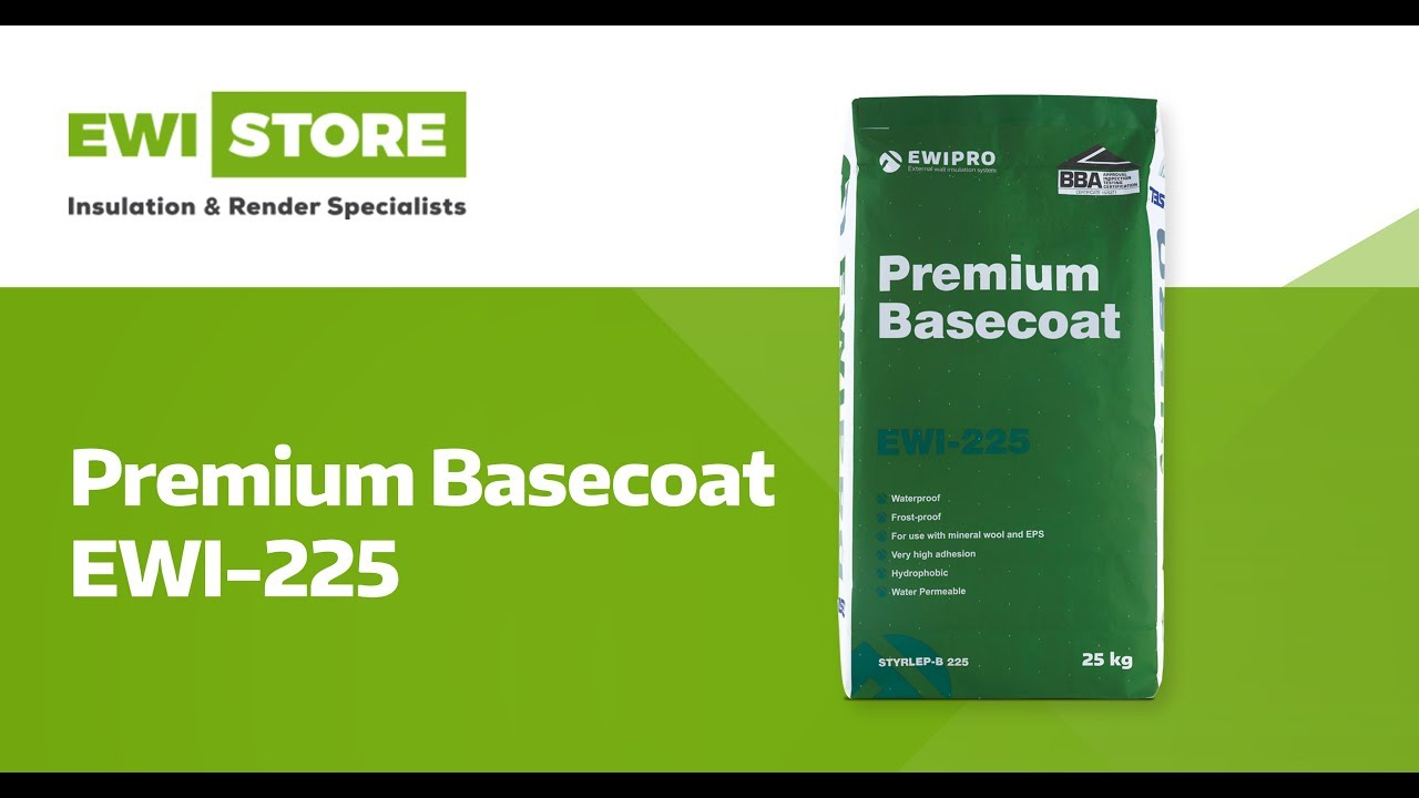 EWI-225 Premium Basecoat ➜ Product Highlights