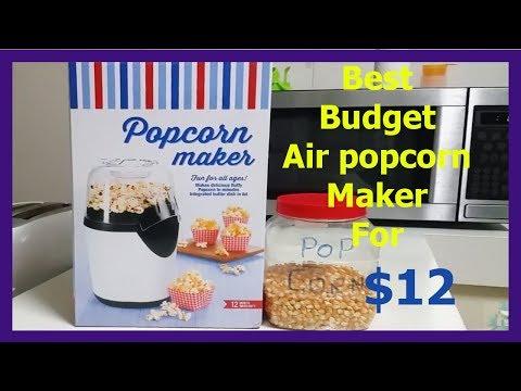 $12 Air Pop Corn Maker/popper Review KMART