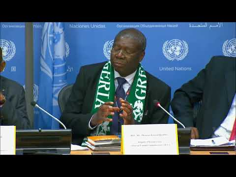 "When ICP asked about #Cameroon Internet cut; VC of AUC TKwesi Quartey of Ghana said ""understandable"""