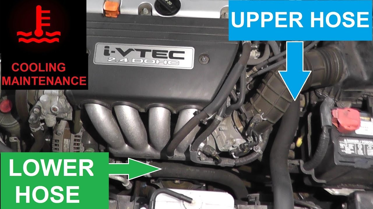 radiator hose replacement with basic hand tools [ 1280 x 720 Pixel ]